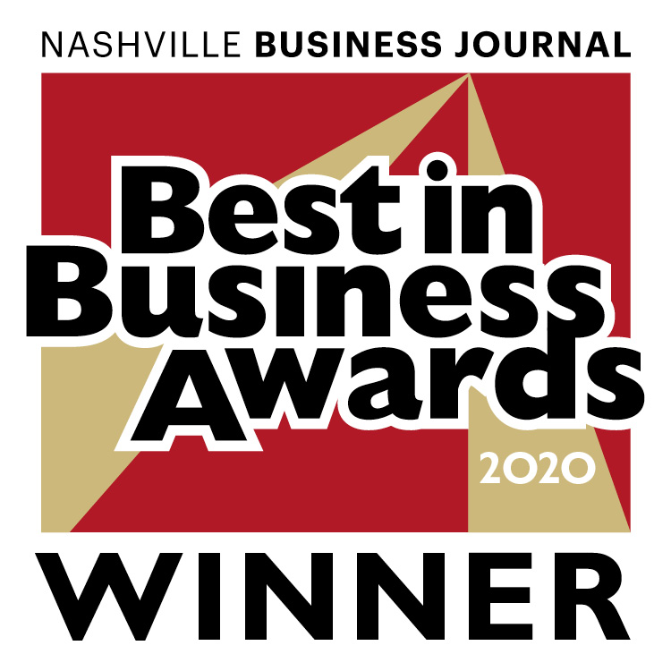 Nashville Business Journal Best In Business Winner