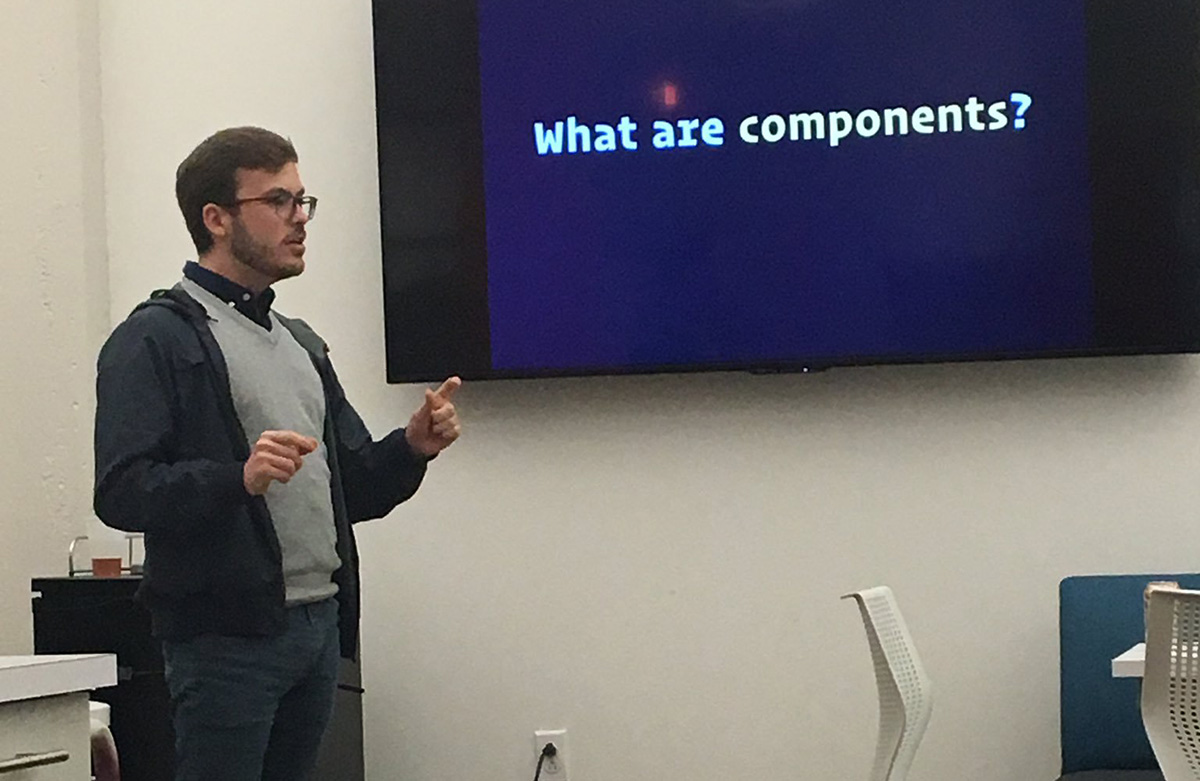 Matt Hamil shares about the Styled-Component Library