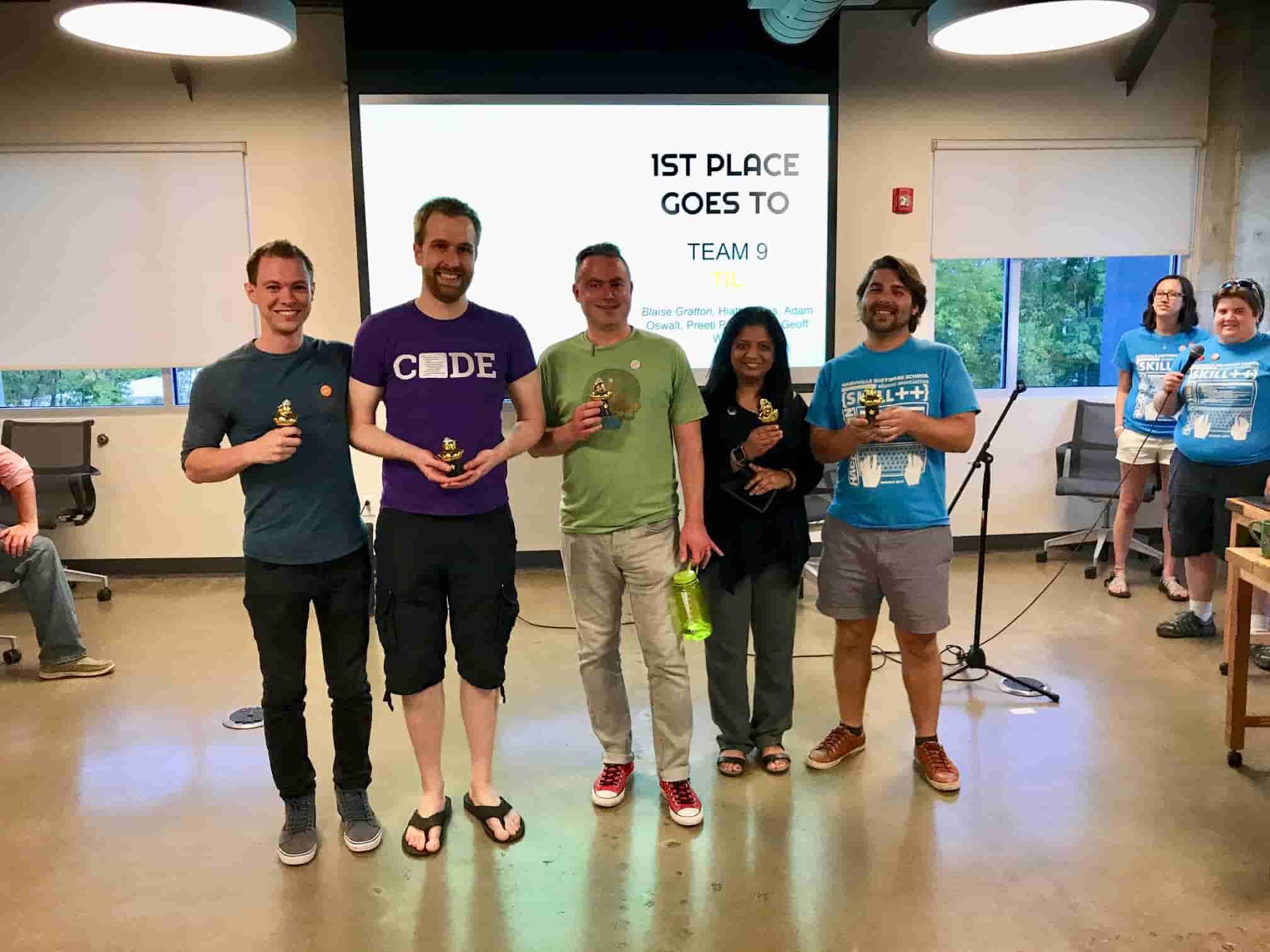 NSS Alumni Hackathon 1st Place