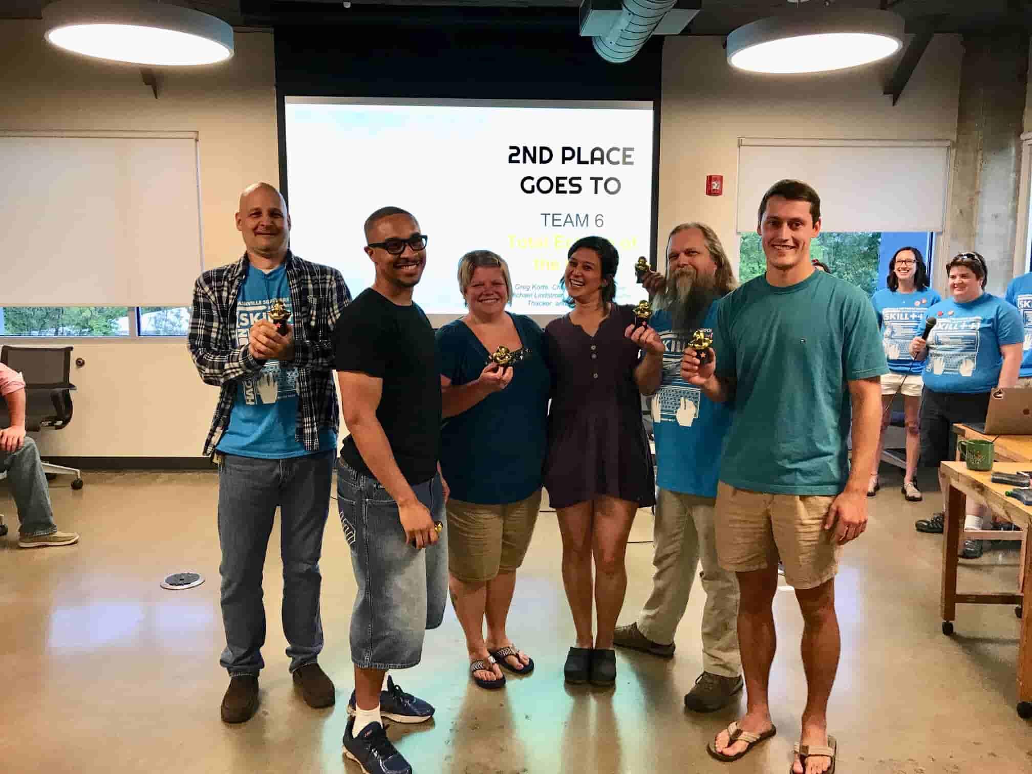 NSS Alumni Hackathon 2nd Place